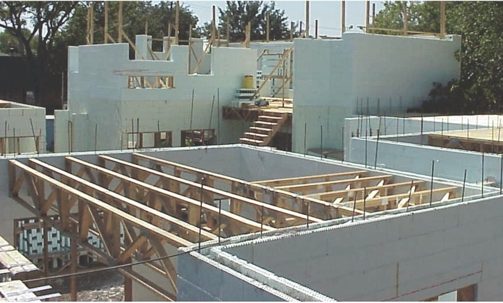 Photo page floor joist for Icf floors